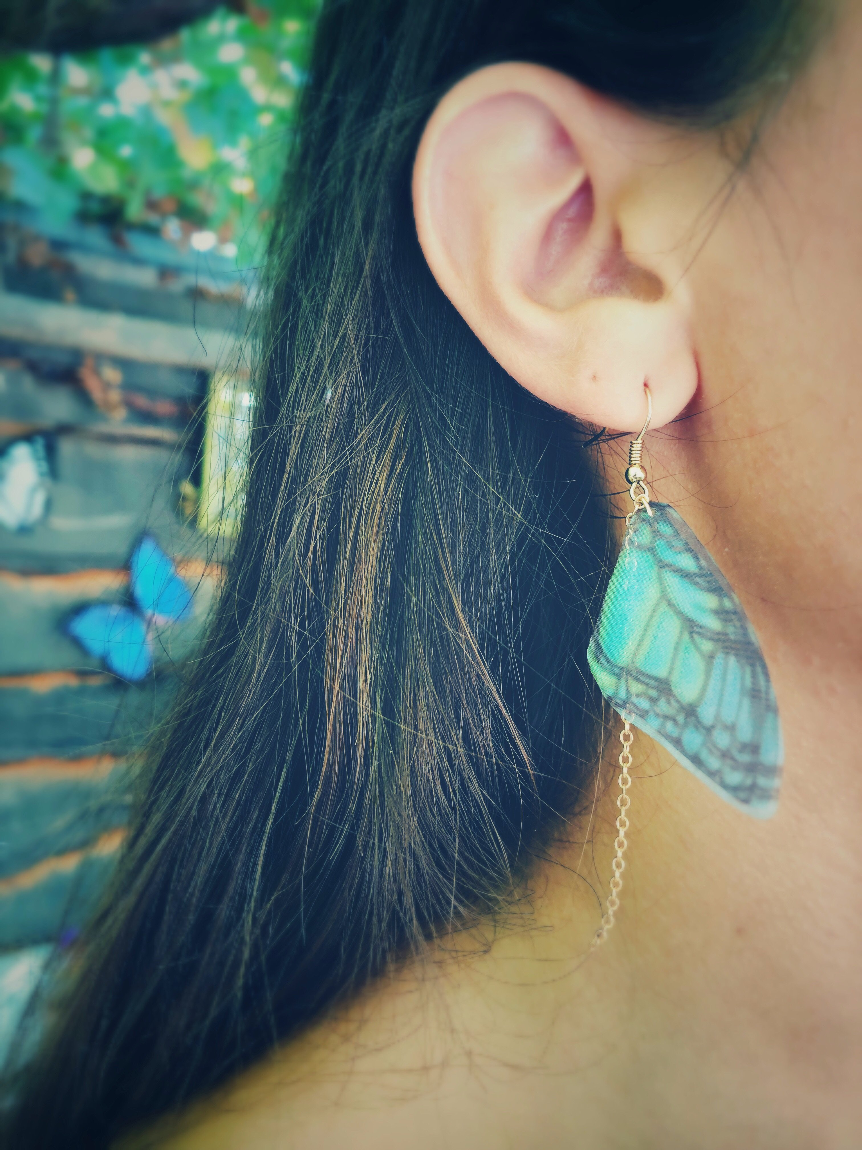 Delicate Butterfly Earrings