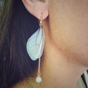 Delicate Butterfly Wings Earrings