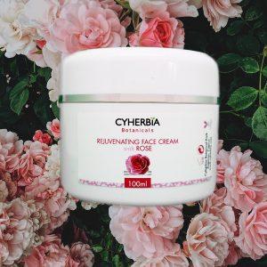 Rejuvenating Face Cream with Rose