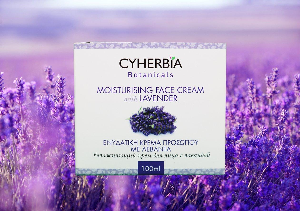 Moisturizing Face Cream with Lavender