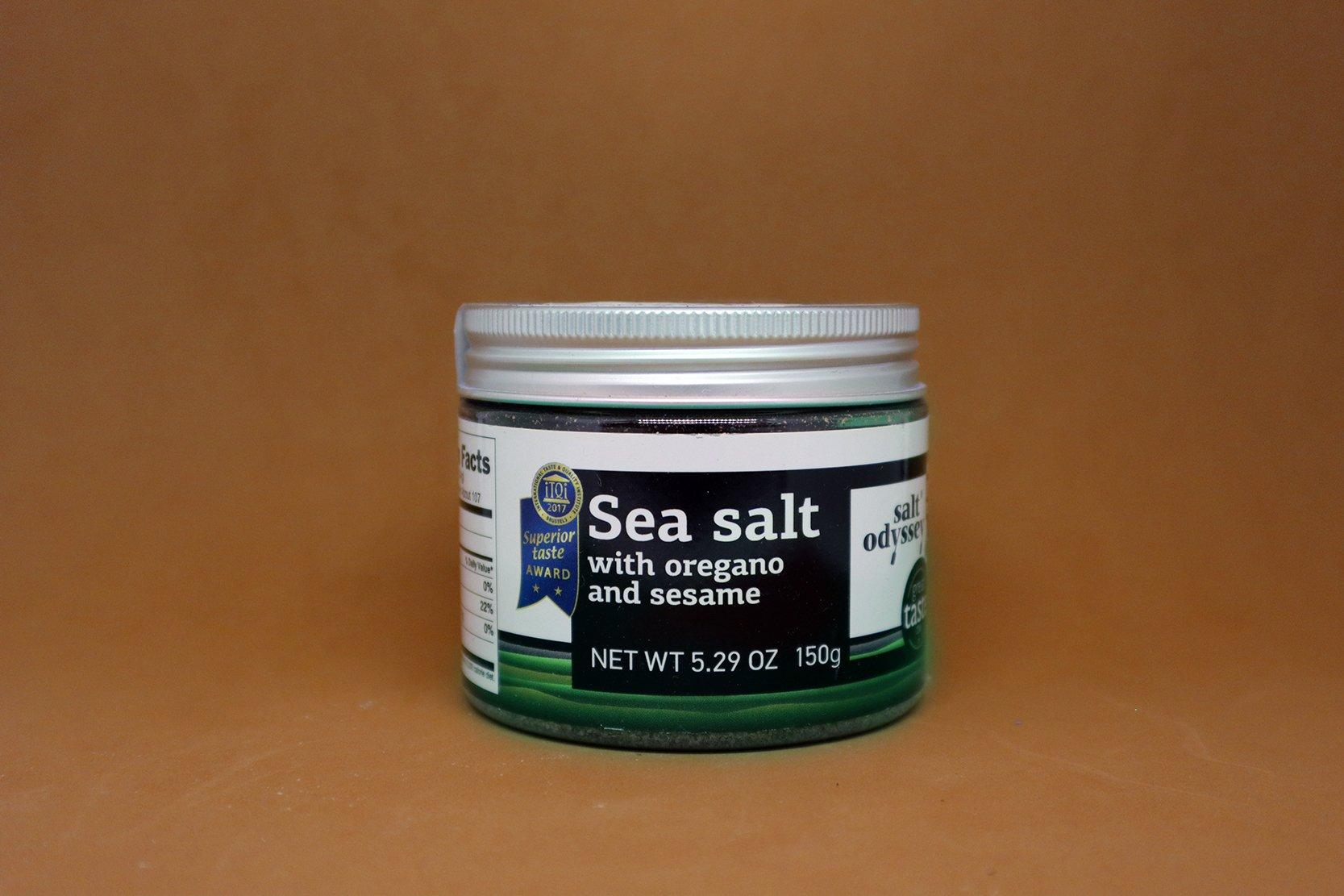 Sea Salt with Oregano and Sesame
