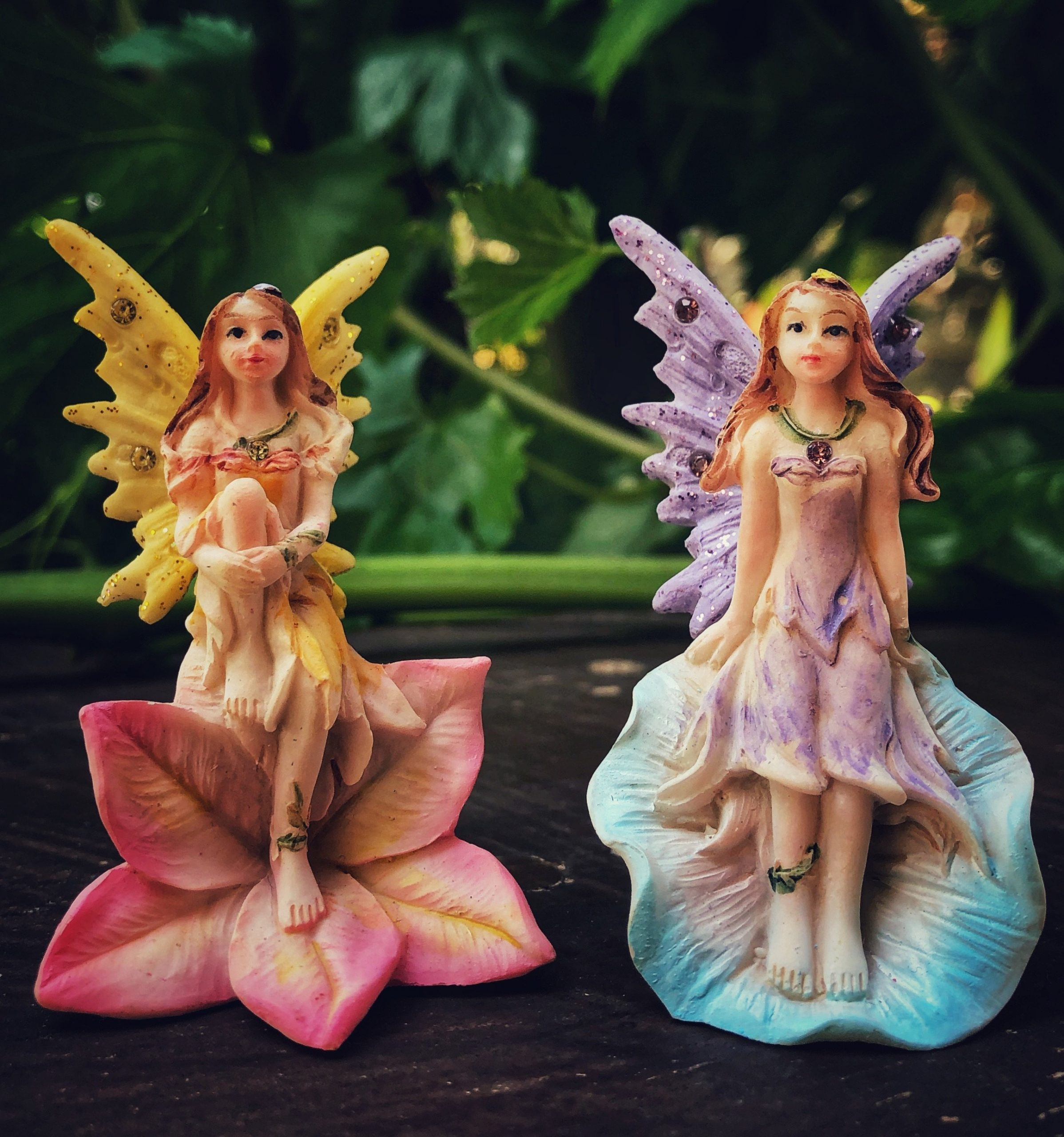 Fairy on flower