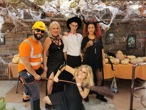 halloween in Cyprus at Cyherbia