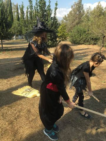 Activity at Cyherbia during halloween