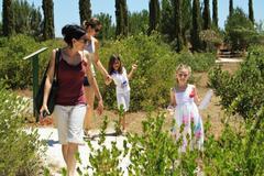 People enjoying Green Monday at Cyherbia in Cyprus