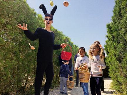 Easter egg hunt at best festivals in Cyprus