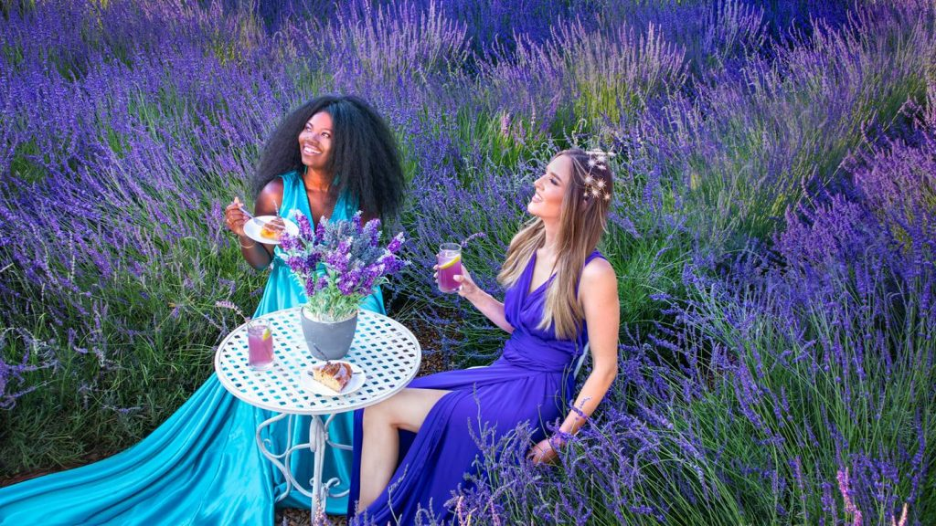 photo shoot at Cyherbia during the Lavender Festival 2021