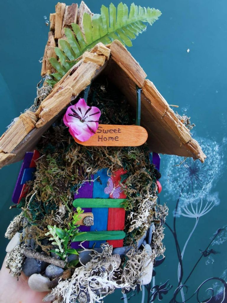 fairy house workshop at Cyherbia