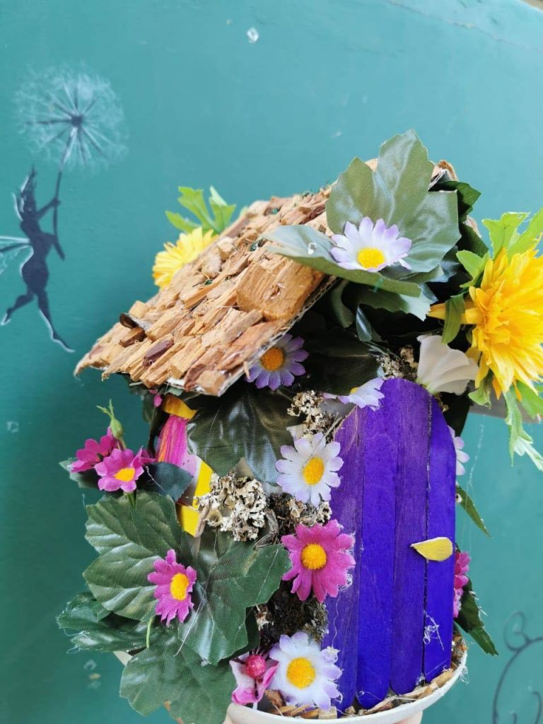 fairy house workshop 2020 made at Cyherbia