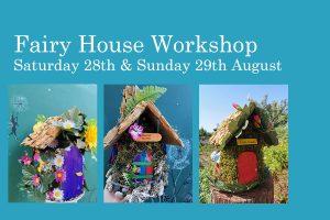 Fairy house workshop 2021